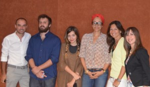 gruppo blogger con zadie