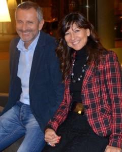 P.Ladaga con G. Carofiglio