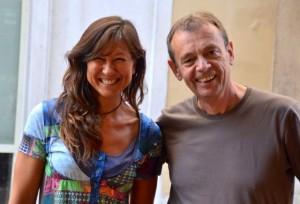 Pierre Lemaitre con Patrizia La Daga