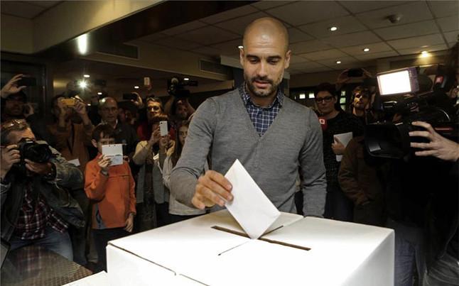 Pep Guardiola vota sport.es