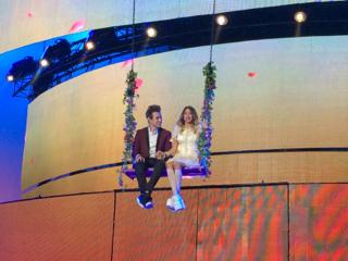 Violetta e León concerto